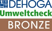 Logo of Dehoga Umweltcheck Bronze partner of Ringhotel Sellhorn